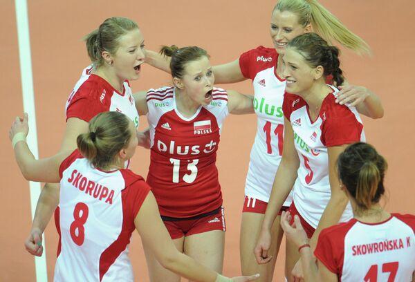 Волейболистки сборной Польши