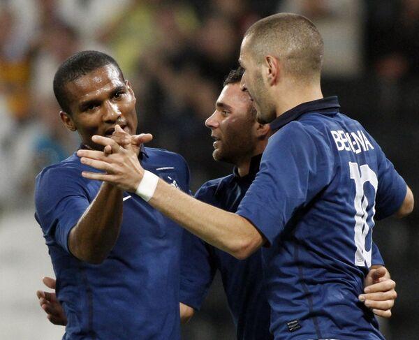 Футболисты сборной Франции. Архив
