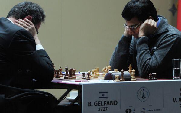 Момет матча за звание чемпиона мира по шахматам