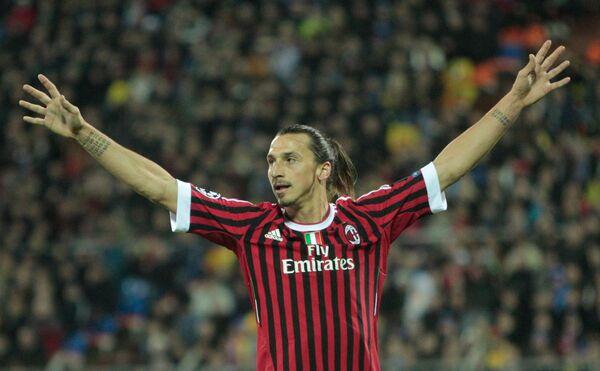 Златан Ибрагимович признан лучшим футболистом года в Италии
