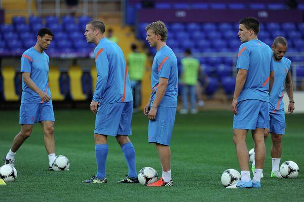 Игроки сборной Голландии