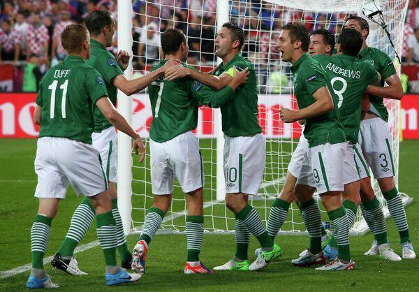 Футболисты сборной Ирландии