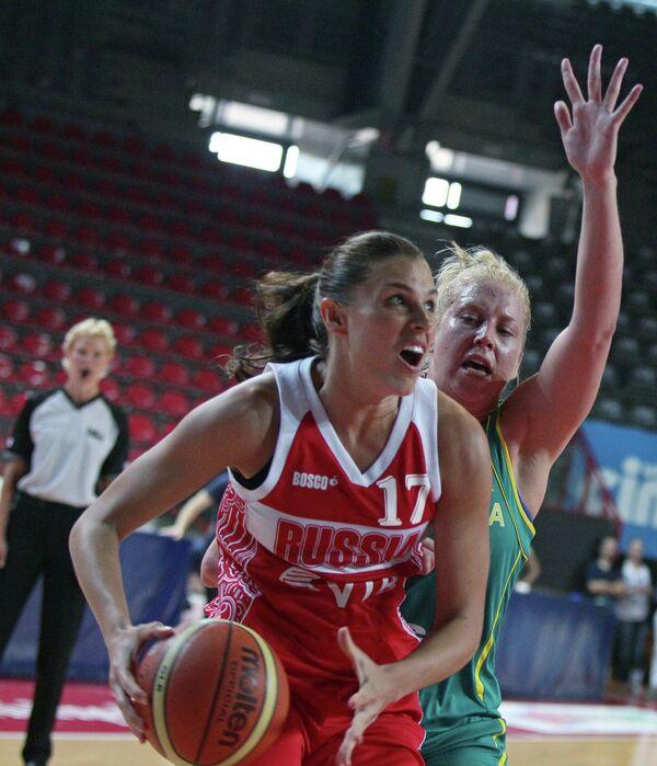 Баскетбол. Товарищеский матч сборных России и Австралии