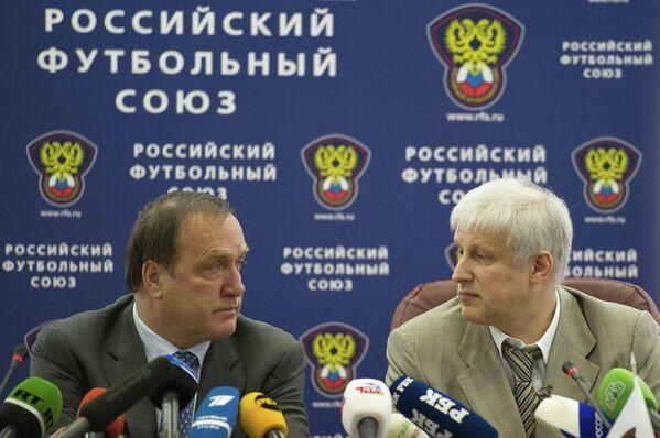 Сергей Фурсенко и Дик Адвокат (справа налево)