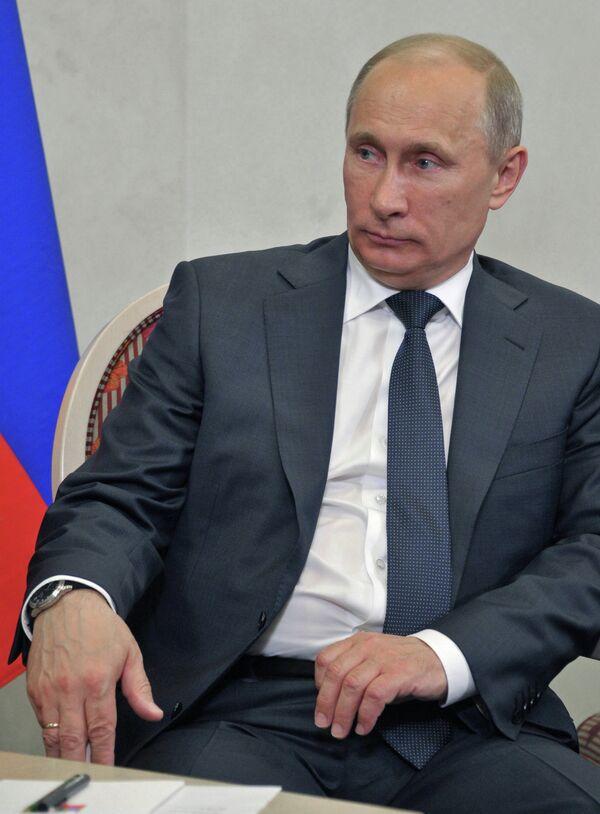 Владимир Путин встретился с Саули Ниинисте