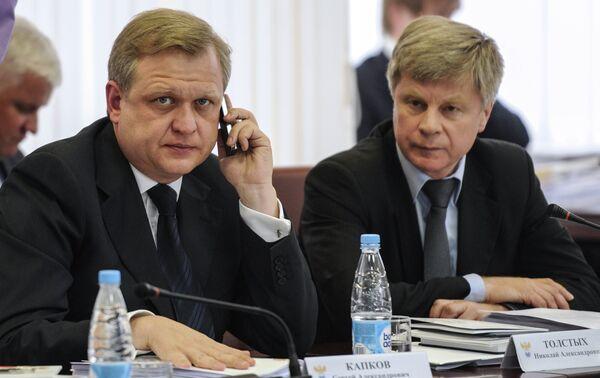 Сергей Капков и Николай Толстых (слева направо)