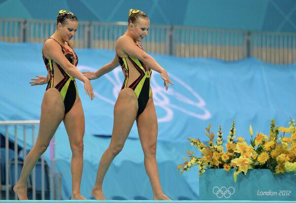 ОИ - 2012. Синхронное плавание. Дуэт. Квалификация