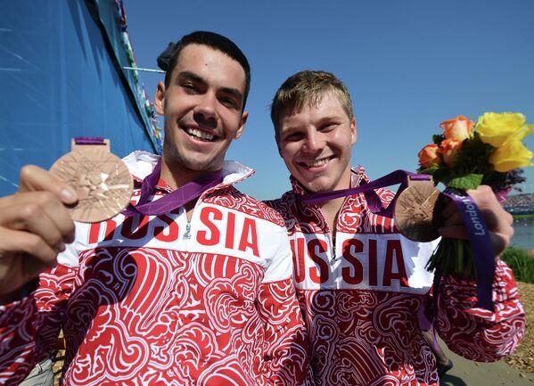 Илья Первухин и Алексей Коровашков (слева направо)