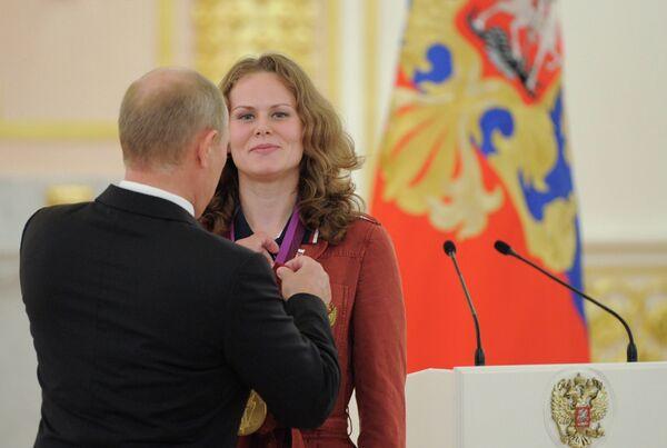 Владимир Путин и Мария Громова