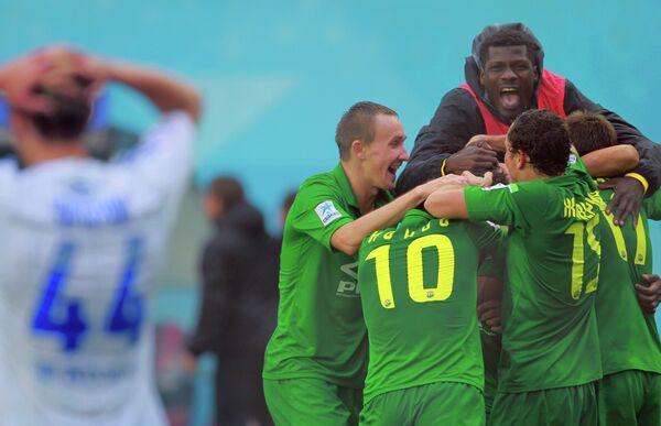Футболисты краснодарской Кубани