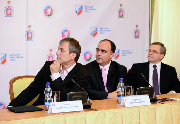 Андрей Пятнов, Герман Скоропупов и Владимир Шалаев (слева направо)