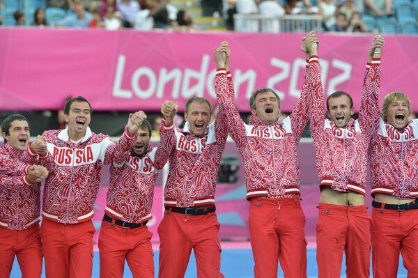 Футболисты сборной России на ПИ