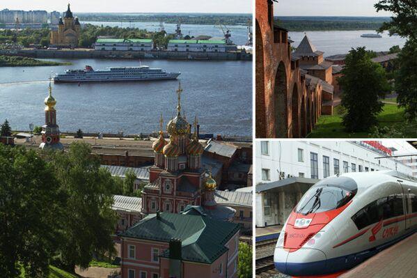 Виды Нижнего Новгорода