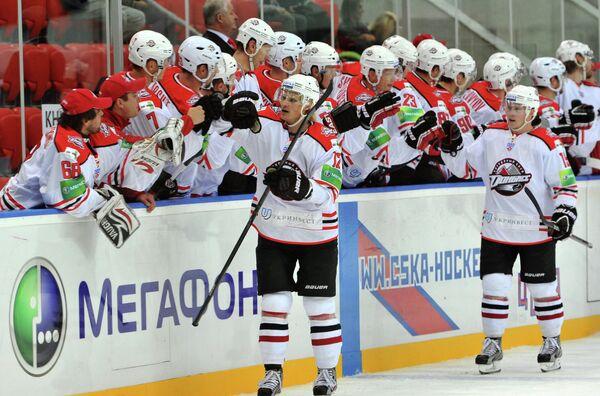 Хоккеисты Донбасса