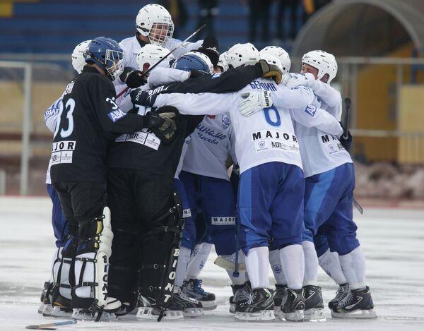 Хоккеисты московского Динамо