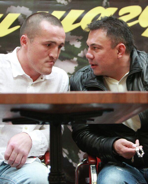 Денис Лебедев и Константин Цзю (слева направо)
