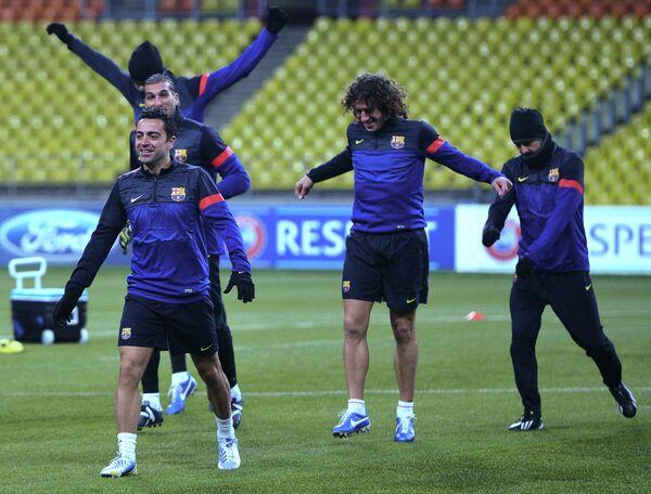 Тренировка ФК Барселона