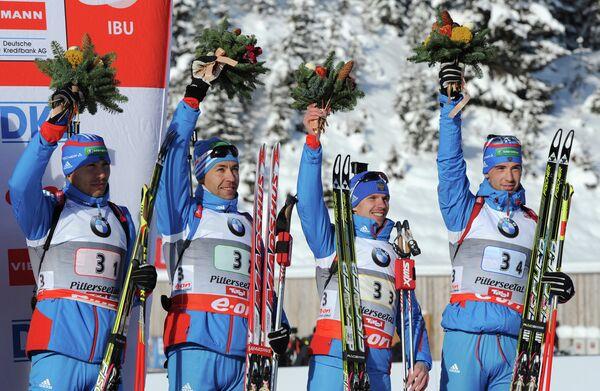 сборная России по биатлону