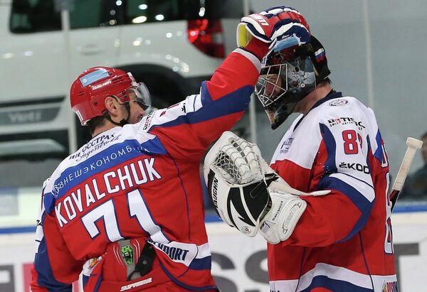 Илья Ковальчук и Василий Кошечкин (слева направо)