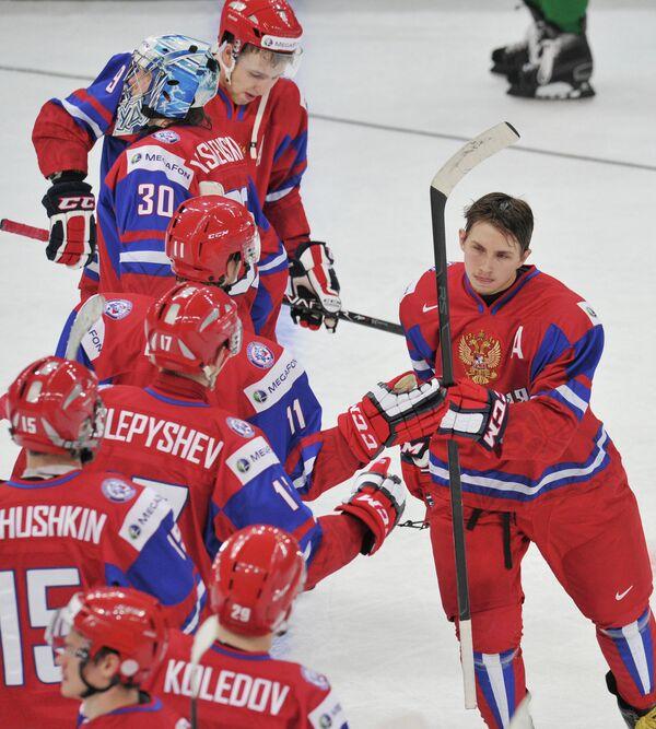 Хоккей. Молодежный ЧМ. Матч Германия - Канада