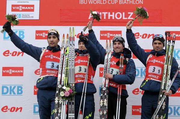 Мужская сборная Франции по биатлону