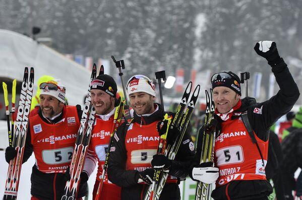 Мужская сборная Австрии по биатлону