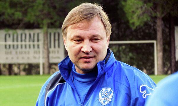Главный тренер ФК Волга (Нижний Новгород) Юрий Калитвинцев