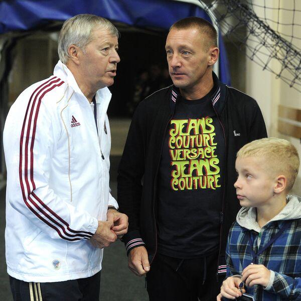 Валерий Гладилин и Андрей Тихонов (слева направо)