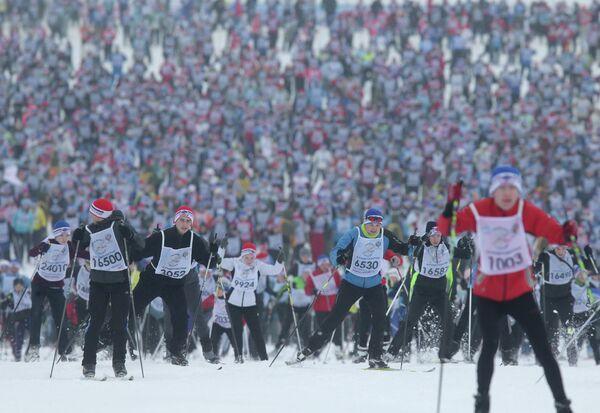 Всероссийская массовая гонка Лыжня России – 2013