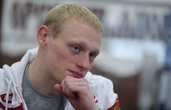 Тренировка олимпийского чемпиона Ильи Захарова