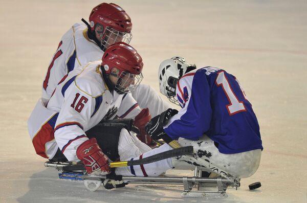 Открытие Международного кубка по следж-хоккею