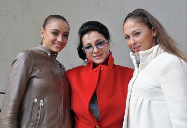 Евгения Канаева и Ирина Винер (слева направо)