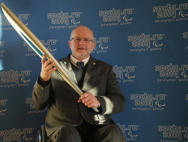 Президент Международного паралимпийского комитета Филипп Крейвен