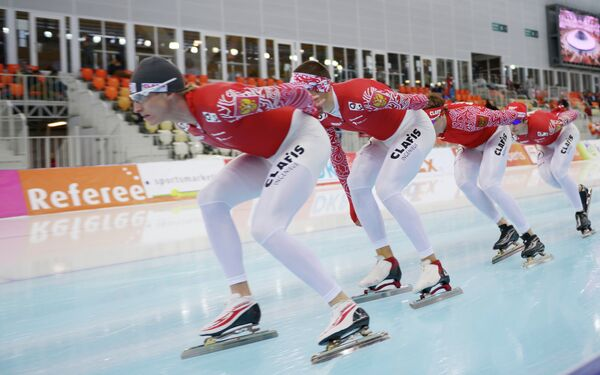 Конькобежцы сборной России