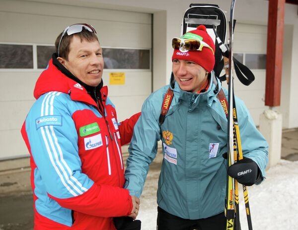 Александр Логинов и Виктор Майгуров