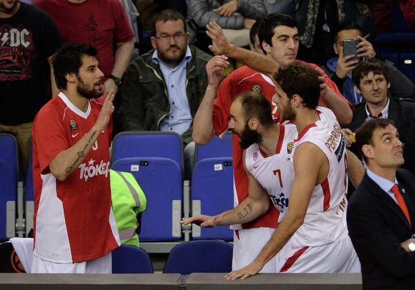 Георгиос Принтезис, Георги Шермадини, Вассилис Спанулис и Стратос Перпероглу (слева направо)