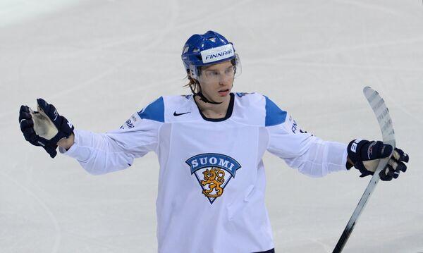 Нападающий сборной Финляндии Сакари Салминен