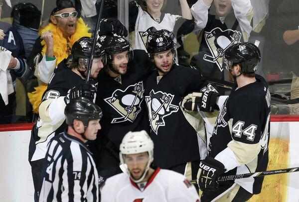 Хоккеисты Питтсбург Пингвинз