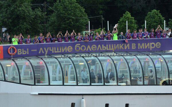 Чествование ПФК ЦСКА - чемпиона России по футболу