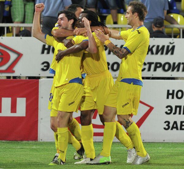 Футболисты Ростова