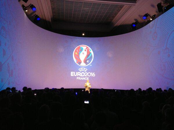 Логотип чемпионата Европы по футболу-2016
