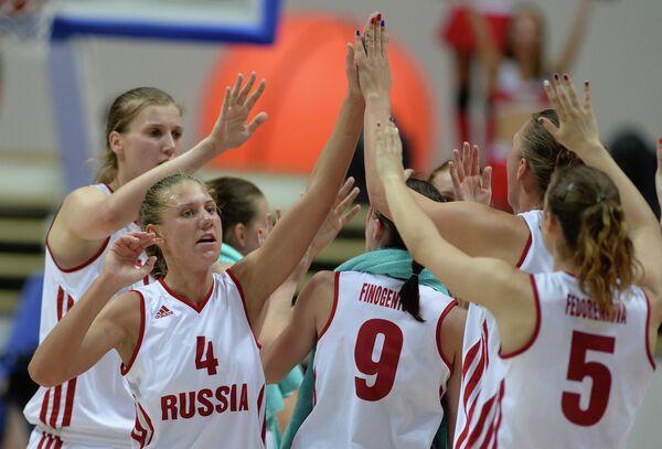 Баскетболистки студенческой сборной России
