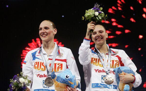 Светлана Колесниченко (справа) и Светлана Ромашина