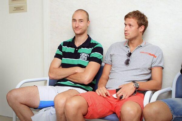 Александр Кривец (слева) и Сергей Червяков (справа)
