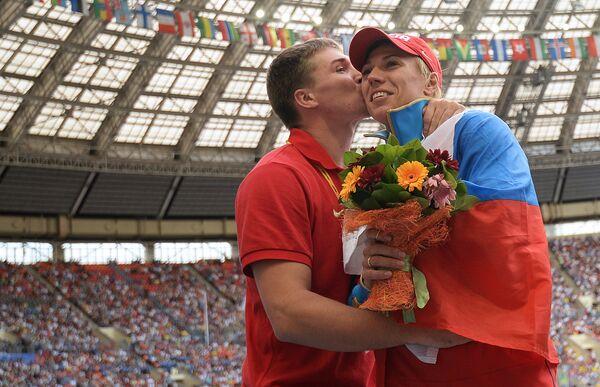 Российские спортсмены Дмитрий Тарабин и Мария Абакумова