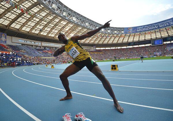 Ямайский спортсмен Усэйн Болт