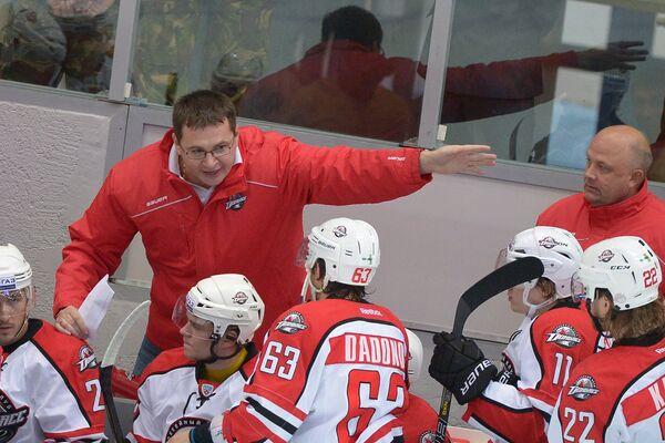 Главный тренер хоккейного хлуба Донбасс Андрей Назаров