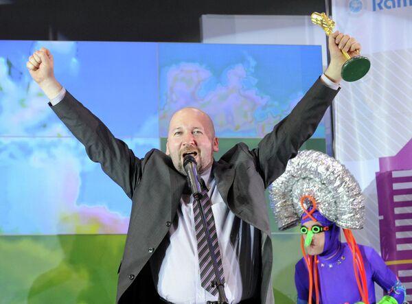 Главный редактор радиостанций Говорит Москва и Радио Спорт Николай Яременко.