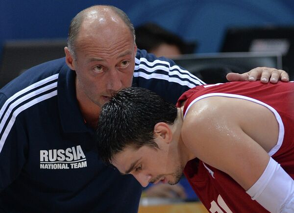 Василий Карасев (слева) и Алексей Швед