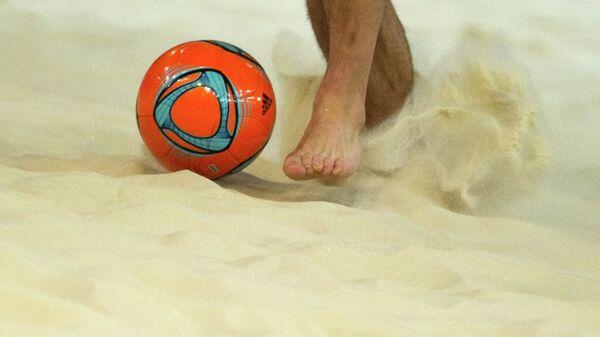 Пляжный футбол. Чемпионат Европы. Тренировка сборной России